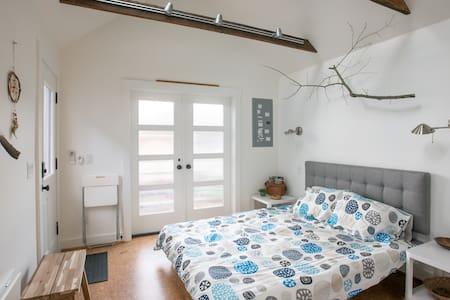 Open Rafters - cork & timber - Portland - Talo