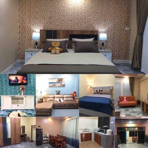 House for rent /day @ Sai Fon 2 Village Khon Kaen