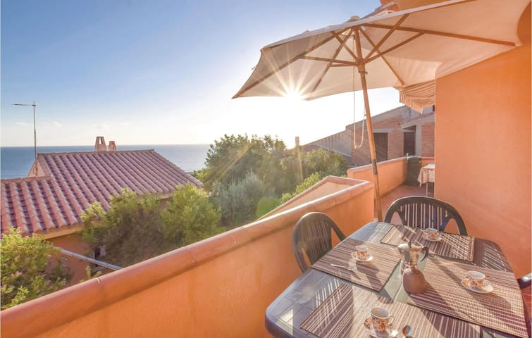 Holiday apartment with 1 bedroom on 32m² in Funtana Meiga (OR)