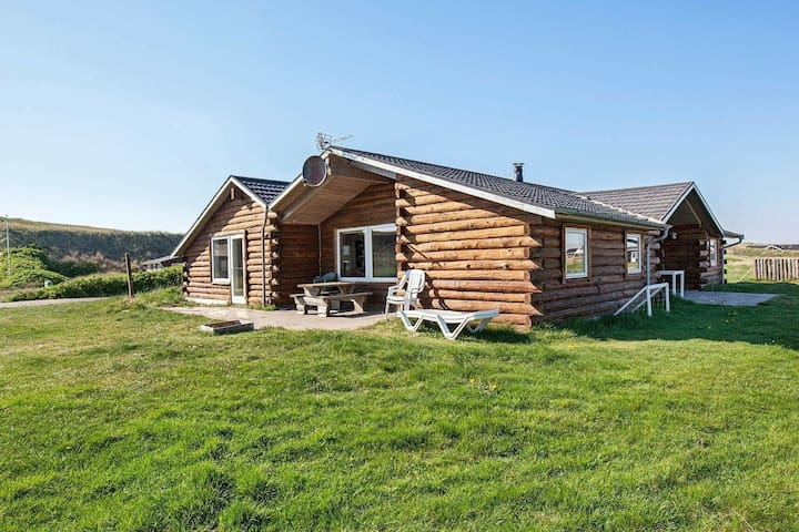 Rustic Holiday Home in Harboøre with Swimming Pool