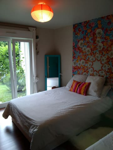 Chambre privée dans maison coquette - Hérouville-Saint-Clair - Ev