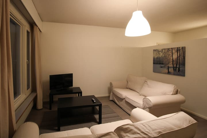 Light two-bedroom apartment for four guests in Western Tampere (ID 8847)