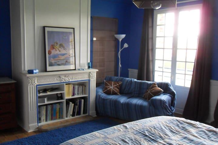 Chambre chocolat belge - Honfleur - Apartamento