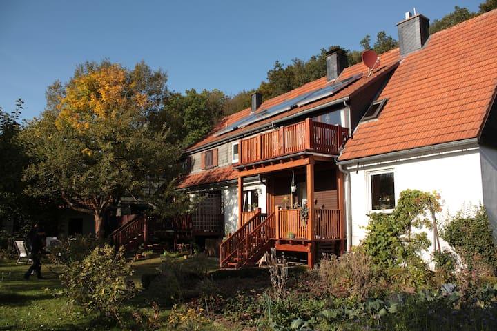 """3*** Ferienwohnung """"Am Goddelsberg"""" - Korbach - Wohnung"""