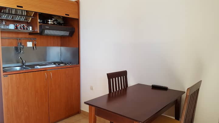 Studio for 2 adults + 1 child - pool, wifi, parking - in Kala Nera 8