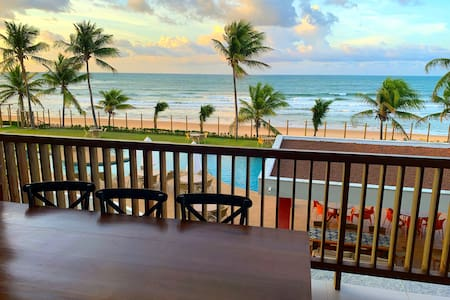 Apartamento beira-mar no Bali Bahia