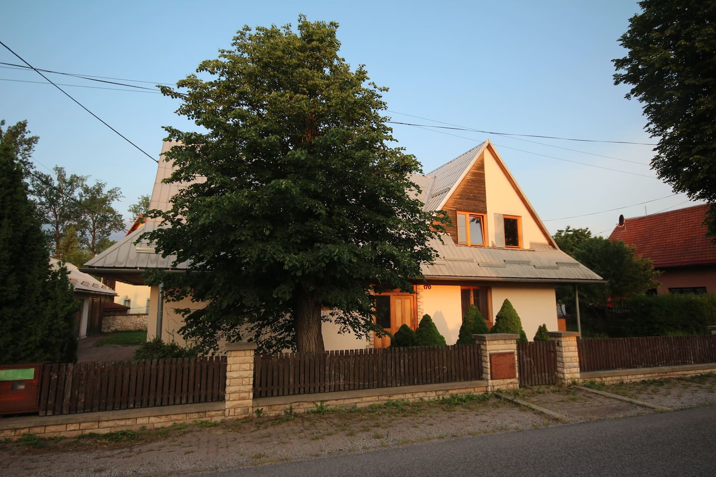 Apartment is a part of a family house nearby national park Slovak Paradise.