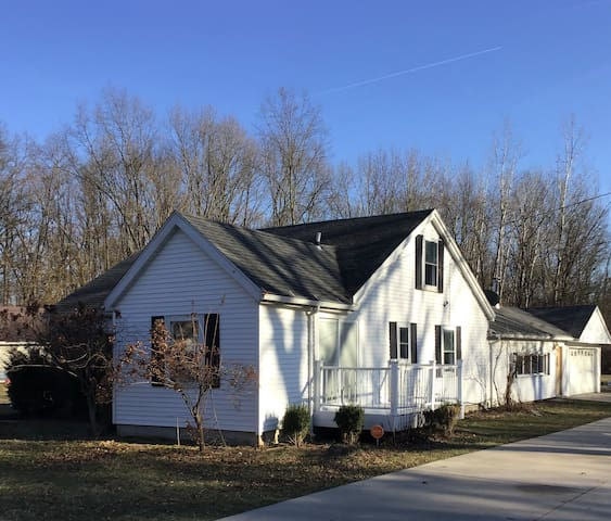 Feel right at home. Charming 4 bedroom home .