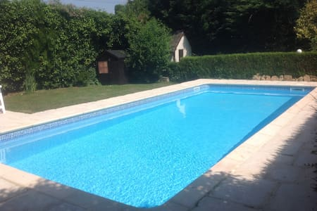 Stone House-Heated Swimming Pool, Country setting