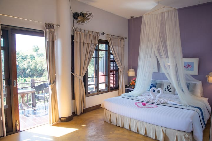 Cozy, Private Panoramic Hill-Top Villa w/Breakfast - Chiang Mai - Villa