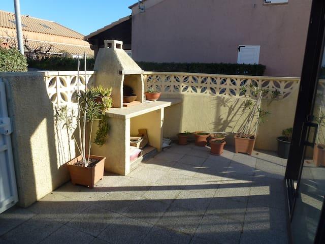 Ma villa à  Narbonne plage