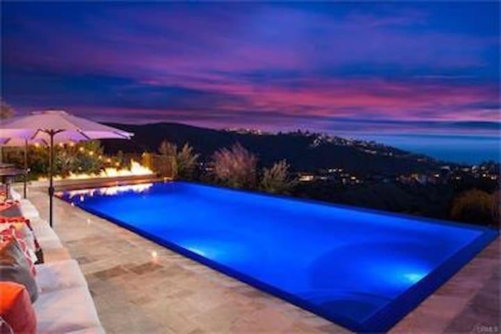 French Country Ocean Views  Estate - Laguna Beach - Villa