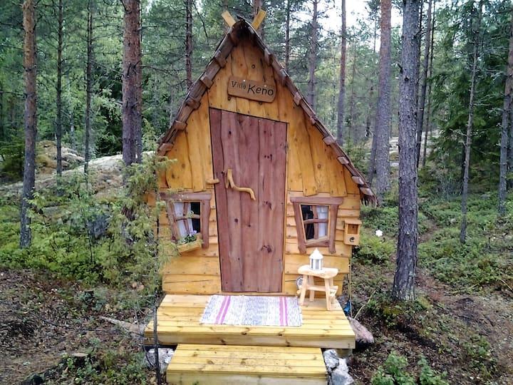 Villa Keno -The small fairy tale hut in the garden