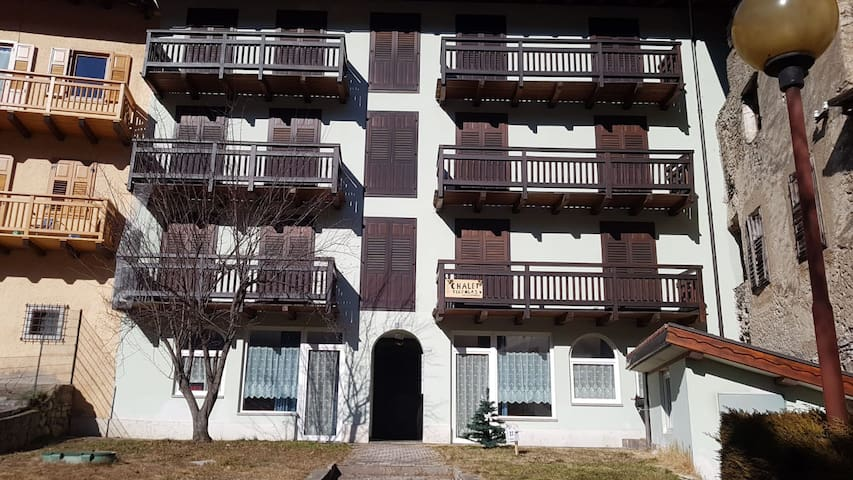 Attractive Apartment Chalet Terzolas Bilocale 113 with Heating, Balcony & Mountain View; Parking Available