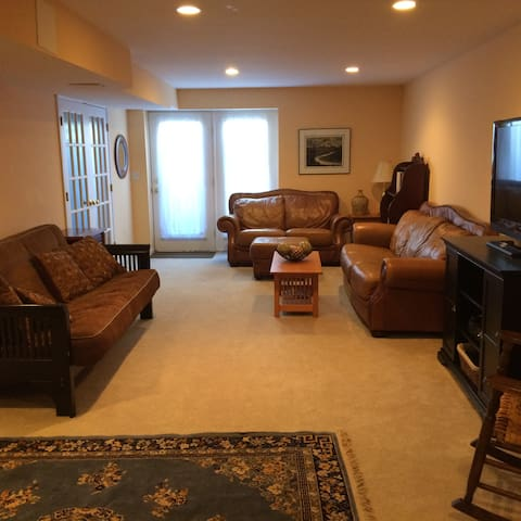 Comfortable and private living space - Hagerstown - Casa