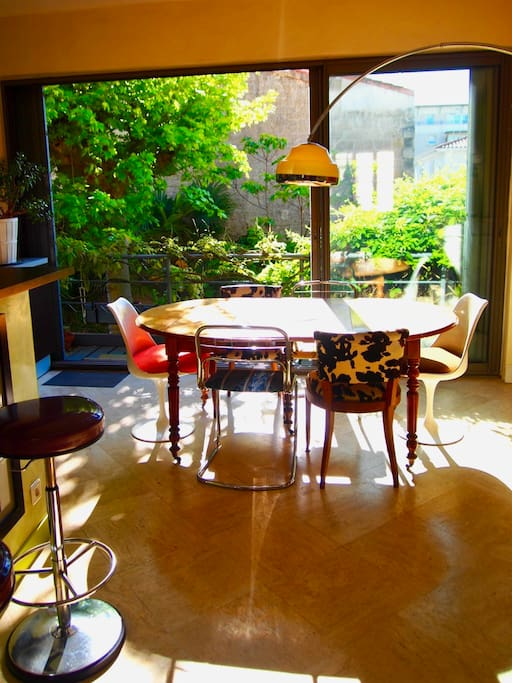 Bordeaux chartrons really nice house with garden for Appartement josephine bordeaux