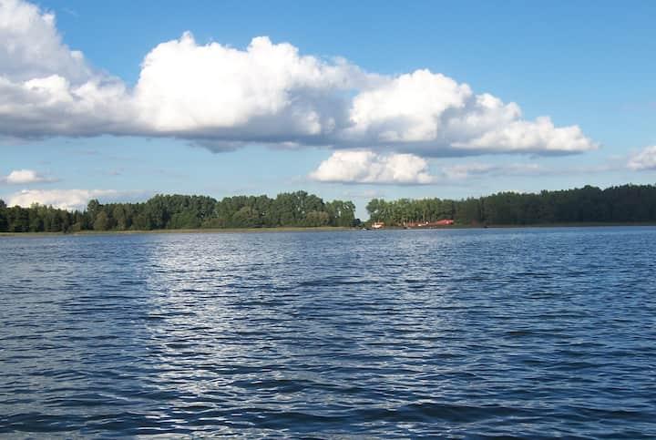 Genieße Ruhe und Natur am Bossower See