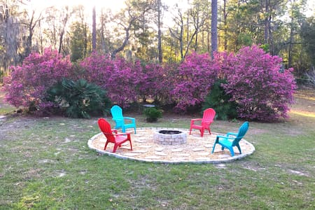 Quiet, Cozy 3 BR Rainbow Springs Home on 1 Acre - Dunnellon - Haus