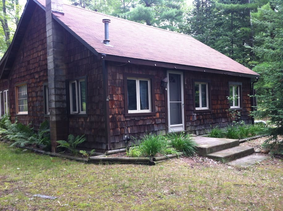 rustic up north cabin minutes from ausable river cabins
