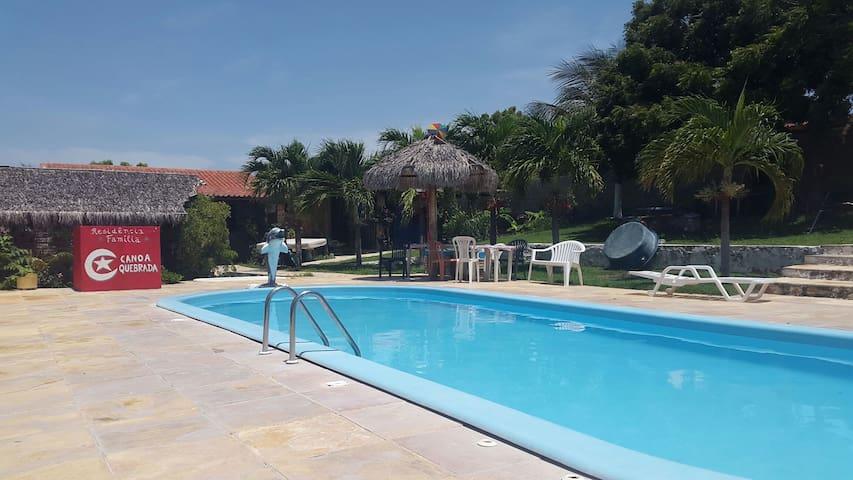RESIDÊNCIA FAMÍLIA - CANOA QUEBRADA - Aracati - Σπίτι