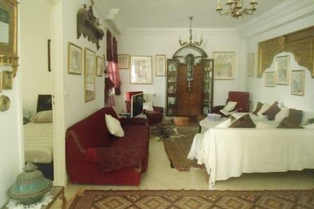 Maison d'artiste paisible et pleine d'inspiration - Tunis