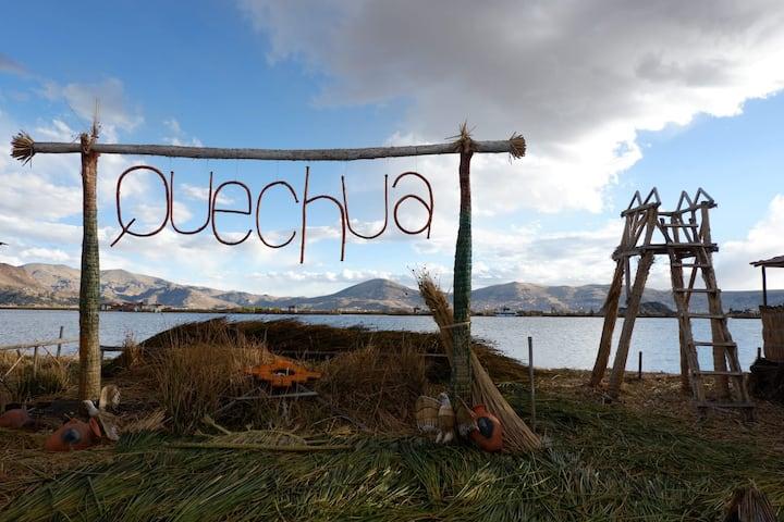 Quechua lodge Titicaca