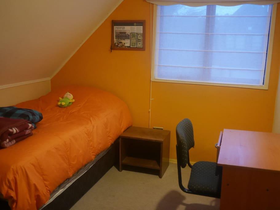Dormitorio 2 con camas individuales (cama nido)