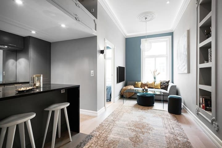 Modern, centrally located Vest, Frogner, Solli Pl.