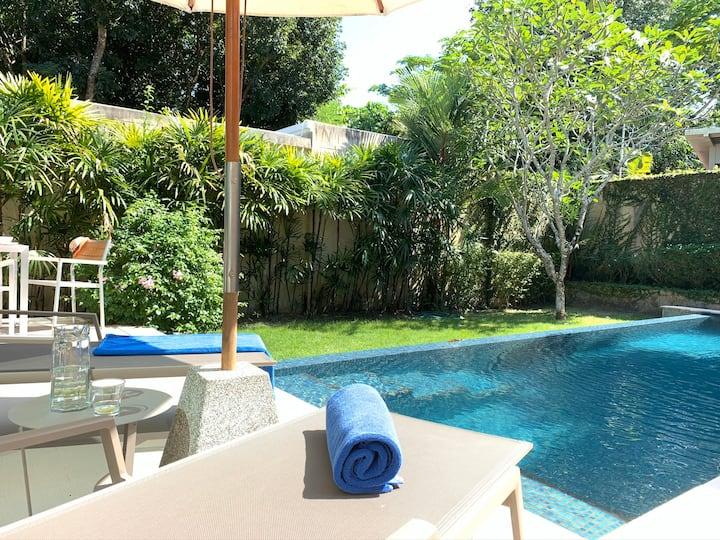 ★Villa Nr Blue Tree water park★Idyllic Pool/Garden