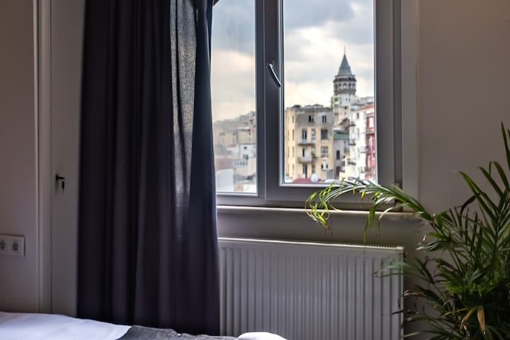 Cozy and Luxury Design with Stunning Galata View