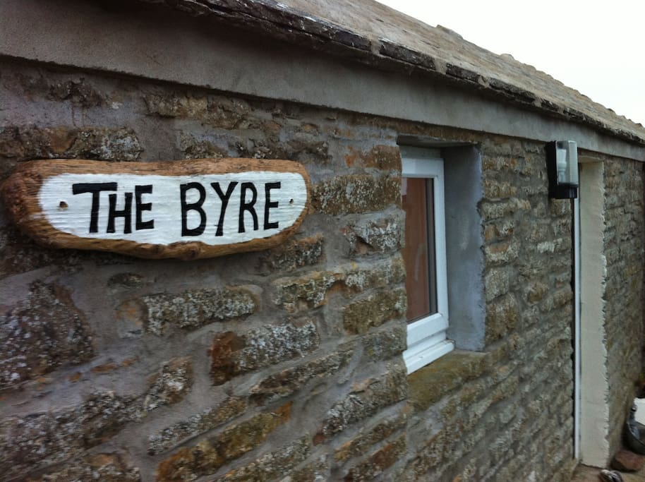 The Byre. Converted Barn -  cow shed