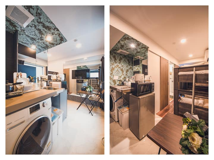 【Support for Corona Measures】Female only★Long-term discount★Wi-Fi★ideal for remotework★5 min walk from Station★303