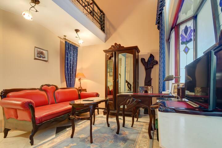 Duplex Apartment in Hotel in Podgorica City Center