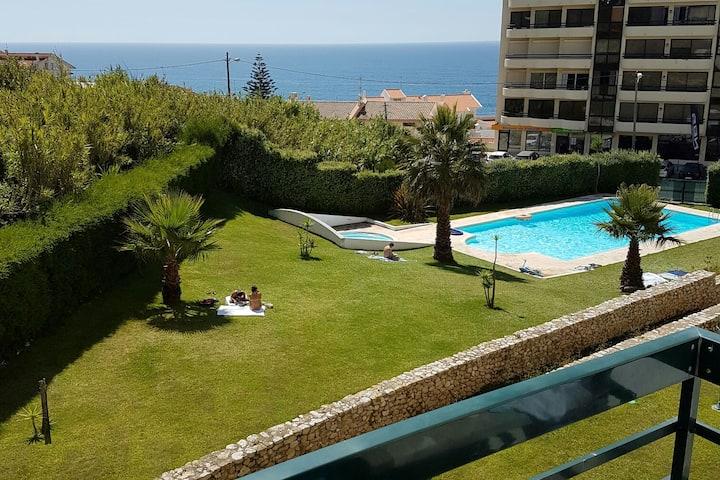 Stylish beach apartment, Ericeira centro
