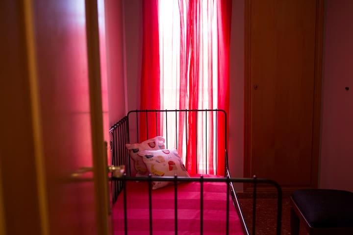 Habitación individual acogedora y sencilla - València - Appartement