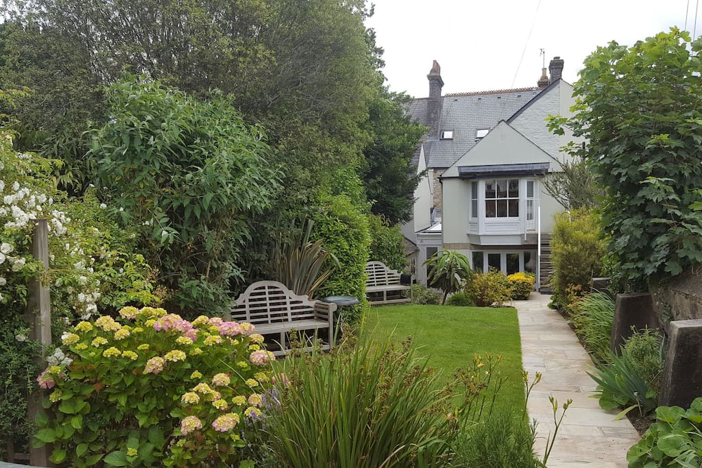 our sunny tranquil south/west garden for you to share