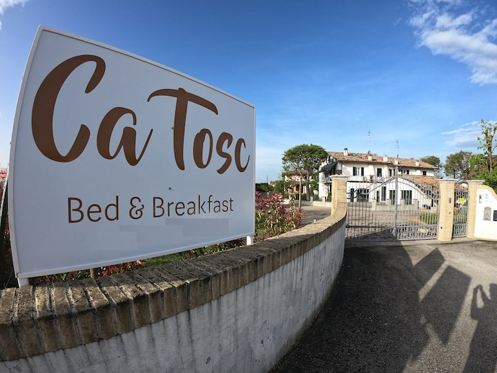 B&B Ca Tosc-Zoe Room private services & breakfast