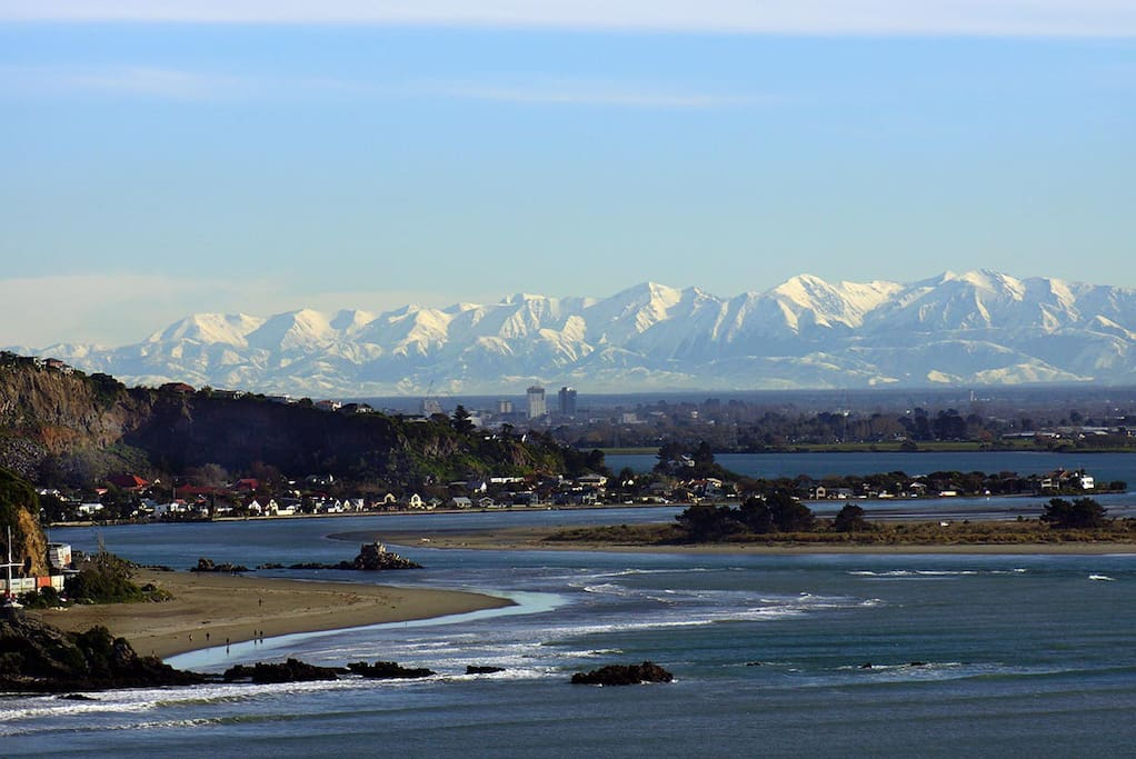 View over Sumner Beach