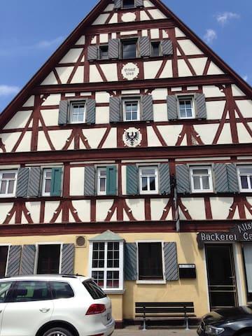 Fachwerkhaus in der Altstadt, Wohnung Elbling - Bad Windsheim - Apartment