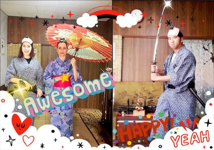 NewOpen!!SAMURAI&GEISHA House2★FreeWIFI★SHINJYUKU - Nakano - Casa