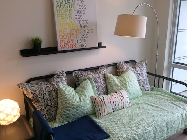 1BR Unit at N3 Condo, East Village, Downtown.