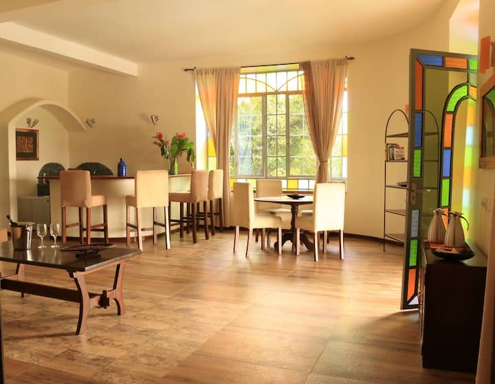 Charming Kilimanjaro. Apartment plus guests room.
