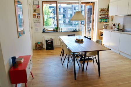 Family apartment in CPH's little Amsterdam