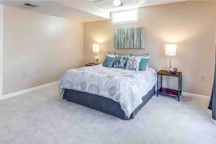 Large Bedroom in Large Luxury Home, Guest Suite