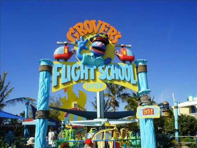 Nearest place to the theme parks and food places