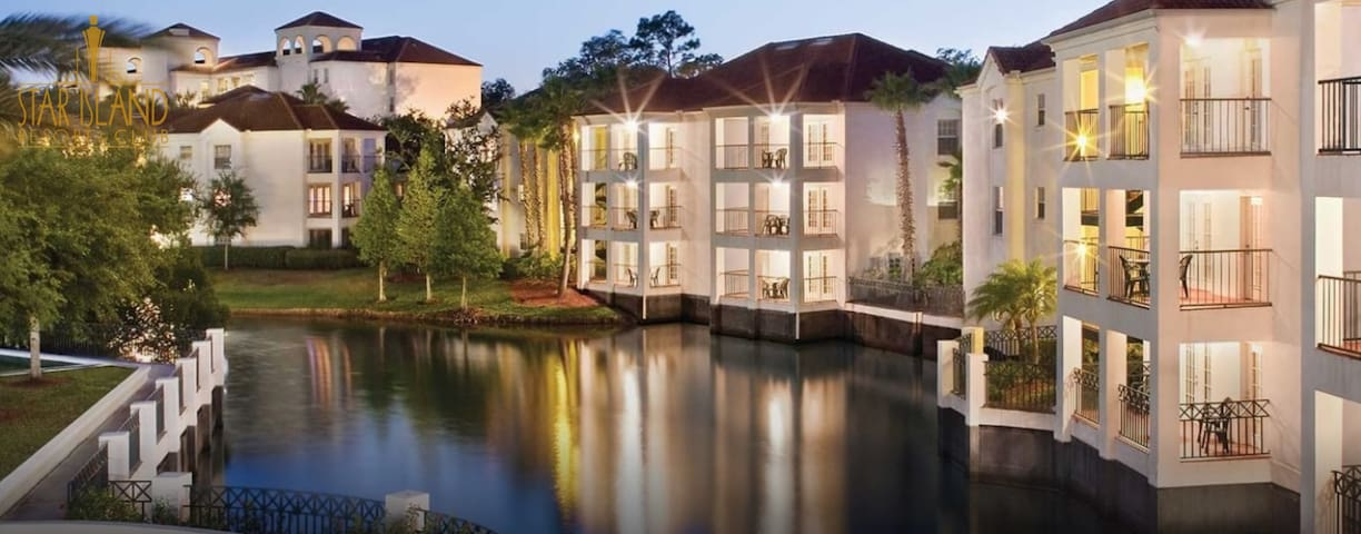 Star Island Resort-10 Mins from Disney World