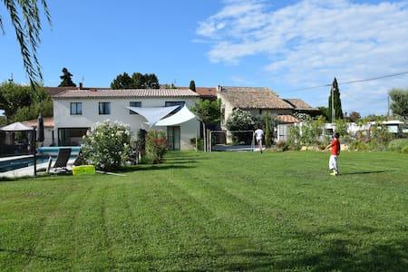 Location Saisonnière au Pézé Pounch - Camaret-sur-Aigues - 公寓