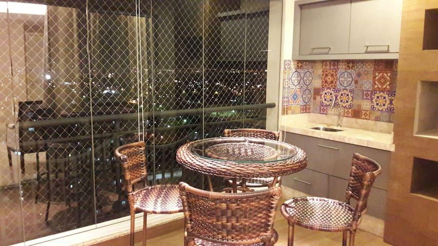 Luxuoso apartamento c/ 125 m2, 3 suítes, J. Goiás. - Goiânia - อพาร์ทเมนท์