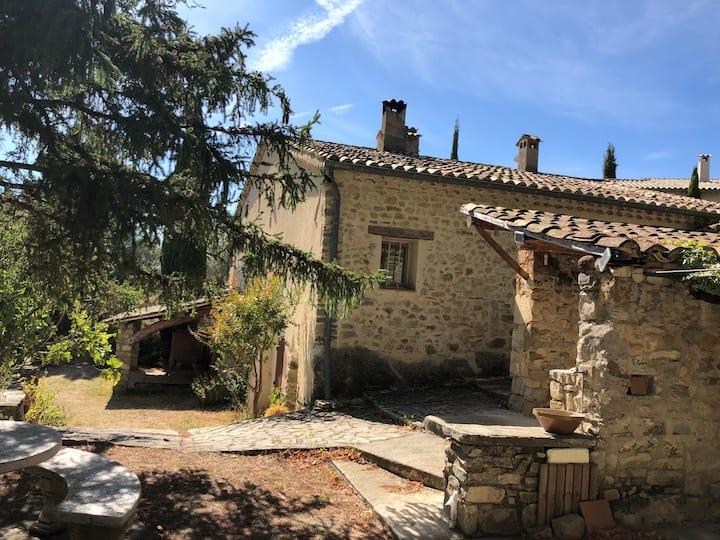 Le Guet aux Anes - Mas Provençal-piscine chauffée