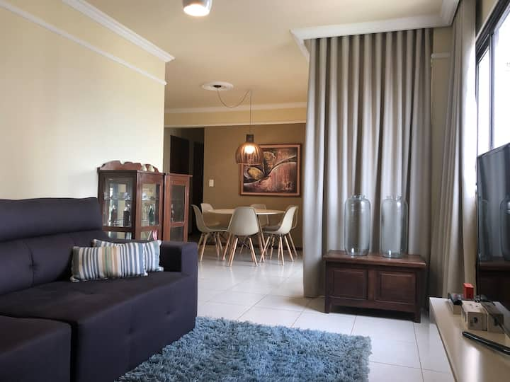 Spacious apartment in prime and central area